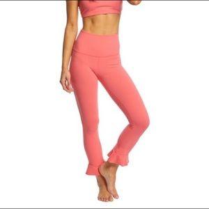 NEW!  Beyond Yoga Frill Seeker Leggings // Sz S